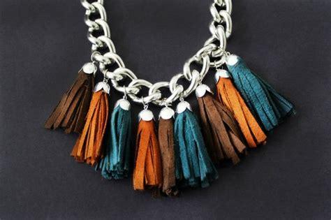 Handmade Accessories Tutorial - trendy tassel accessories diy tutorial hip home image