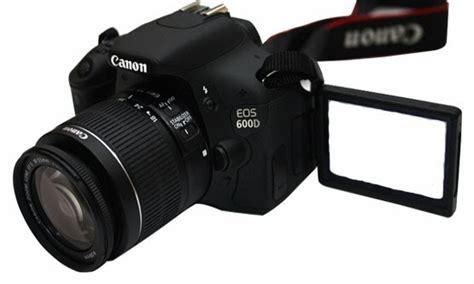 Kamera Canon 600d Bhinneka harga kamera canon eos 600d dan spesifikasi terbaru lengkap 2017