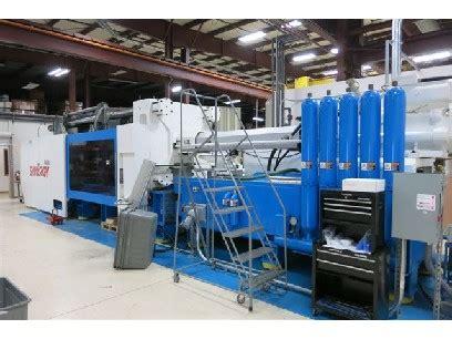injection molding machines: netstal 800 ton 77 oz with