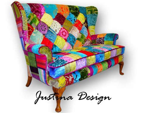 patchwork furniture 17 best images about fabric patchwork velvet furnitures