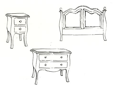 interior design sketches furniture hd