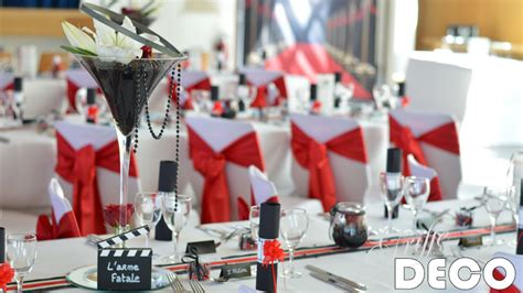 Decoration Table Cinema by Mariage Th 232 Me Cin 233 Ma