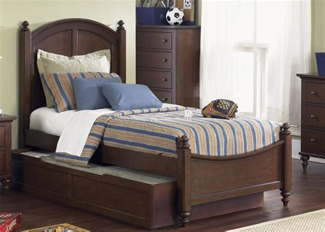 double bed with trundle twin panel bed with trundle by liberty furniture wolf