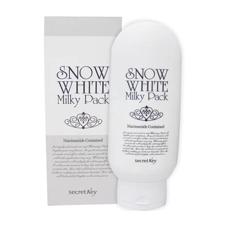Secret Key Snow White Pack Limited snow white whitening pack 200ml