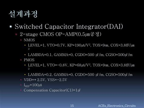 switched capacitor delta sigma modulator switched capacitor integrator ppt 28 images switched capacitor switched capacitor circuits