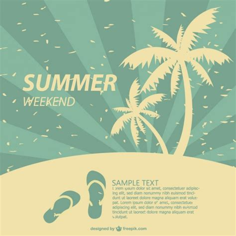 design summer year definition summer poster tropical design vector free download