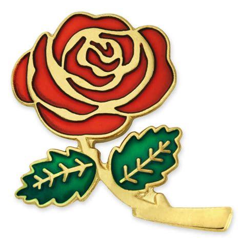 Zeca 147 Rosegold Green Original pinmart s colored flower enamel lapel pin 1 quot ebay