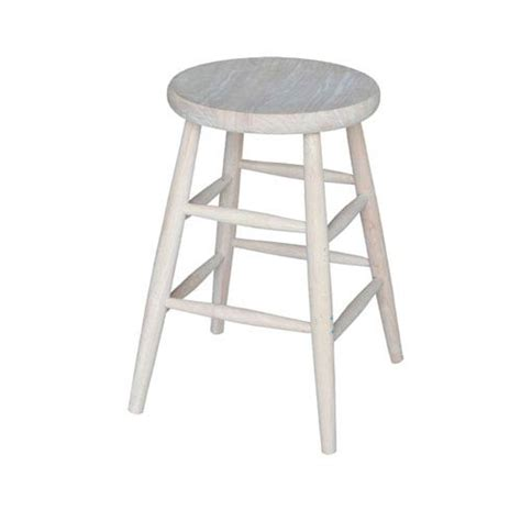 Unfinished Wood Bar Stool Unfinished Wood Bar Stool Bellacor