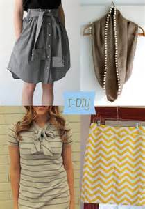Diy Fashion Projects by Diy Fashion Tops Images