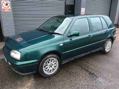 car owners manuals for sale 1996 volkswagen golf parking system volkswagen 1996 golf vr6 green vw mk3 iii not gti no reserve car for sale