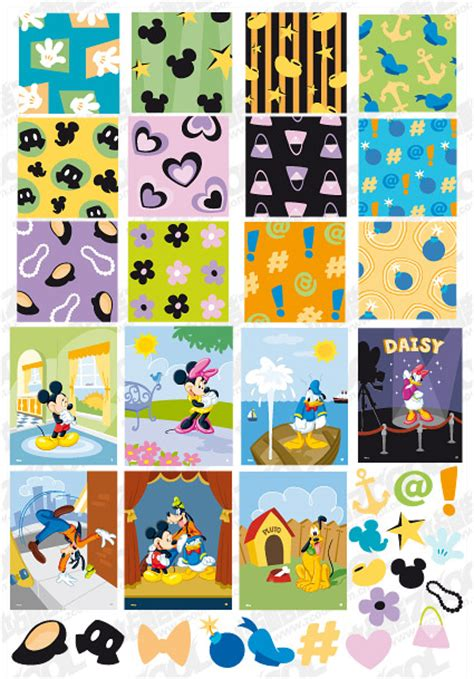disney wallpaper vector disney lovely tile vector background material graphic hive