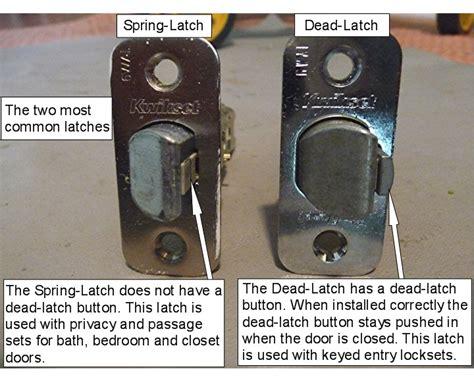How To Fix A Jammed Door Knob by Door Latch Door Latch Bolt Stuck