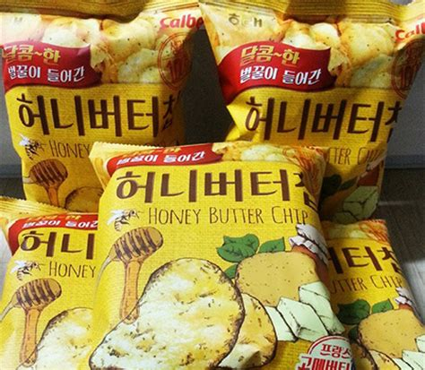 Honey Butter Chips what s the buzz in korea right now honey butter chip s