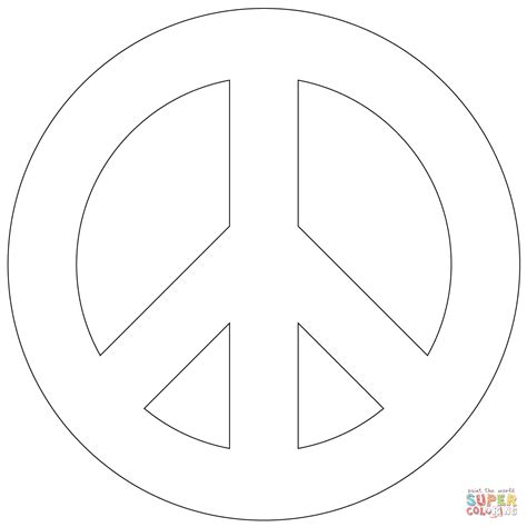 Peace Sign Coloring Pages 2017 2018 Best Cars Reviews Peace Sign Coloring Page