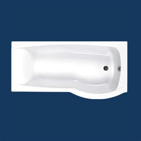 carron delta shower bath   mm  hand