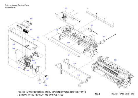 reset epson t1100 manual epson stylusoffice t1110 t1100 b1100 meoffice 1100 parts