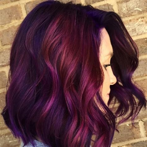 middle aged women who dye their hair magenta 50 magenta hair color ideas for bold women hair motive