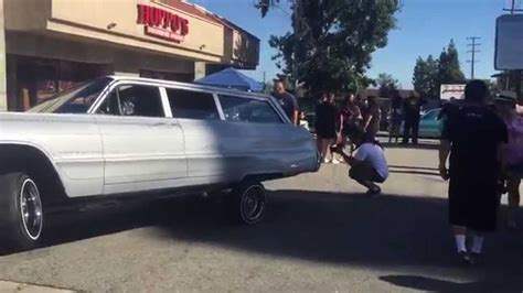 1964 impala wheels 1964 impala wagon lowrider 3 wheel