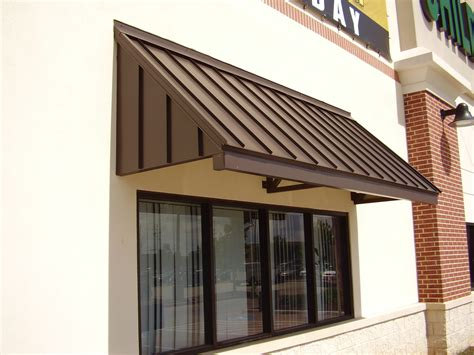 standing seam awning marygrove awnings texas houston texas proview