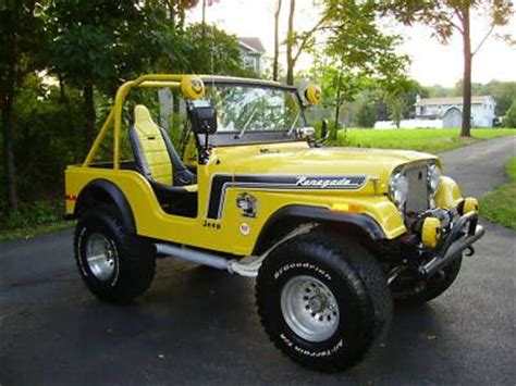 vintage jeep renegade cj 5 renegade stripes from the early 1970s ewillys 4x4