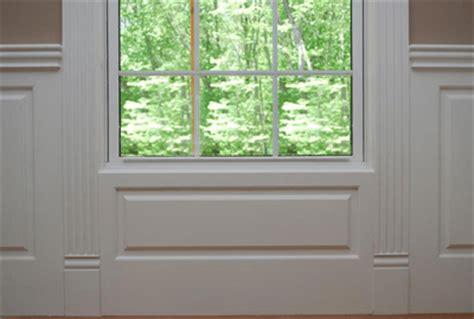 Wainscoting Around Windows by Wainscoting America Custom Panels Raised Recessed