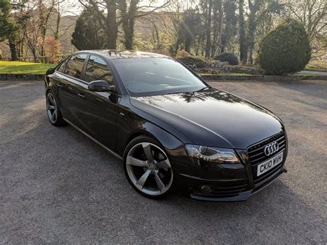 Audi A4 S Line 2010 2010 audi a4 s line 2 0 tdi black edition styling in