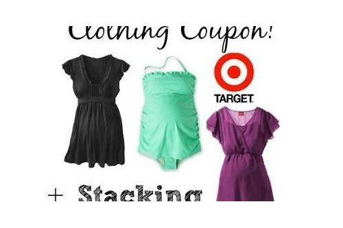 maternity target coupons