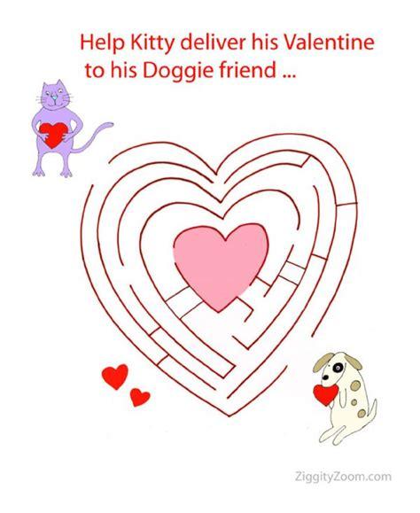 printable heart maze heart maze for valentine fun ziggity zoom