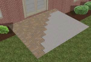 How To Lay Pavers For Patio 17 Best Ideas About Pavers Concrete On Garden Pit Pits And