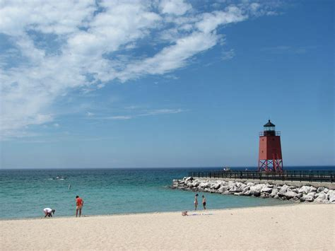 beaches in michigan beaches in charlevoix michigan