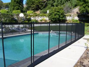 diy mesh pool fence mesh pool fencing 5 x12 black