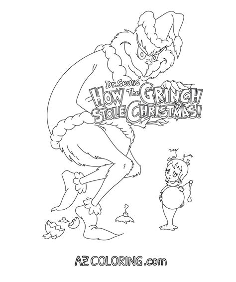 grinch coloring pages for adults the grinch coloring page coloring home