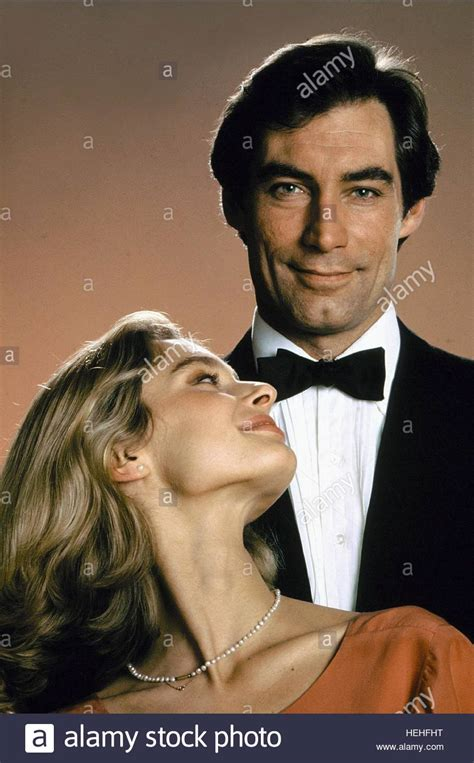 timothy dalton james bond a ha the living daylights timothy dalton james bond and bond girls