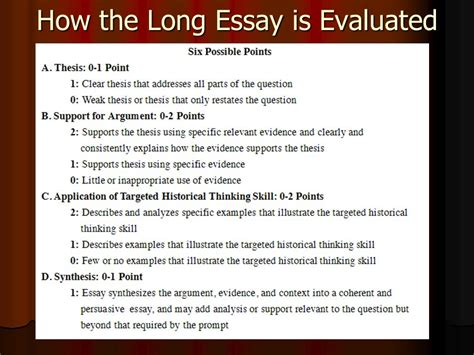how to guide for thematic essays ppt download how to write an apush thesis statement how to tackle the