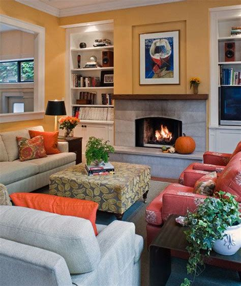 64 best images about orange living room on