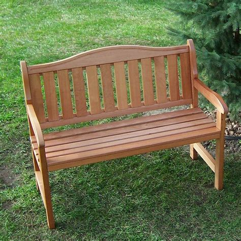outdoor benches with backs prairie leisure aspen 44 in hump back garden bench