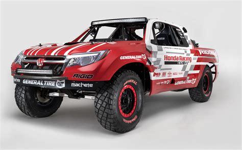 honda truck lifted 2017 honda ridgeline previewed at sema by desert race truck