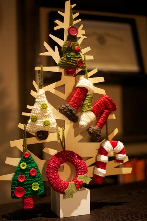 Handmade Tree Ornaments Ideas - picture of handmade cardboard tree ornaments