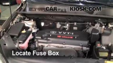 2007 Toyota Rav4 Engine Problems Interior Fuse Box Location 2006 2012 Toyota Rav4 2007
