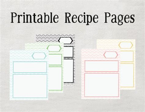Free Editable Recipe Card Templates For Pages by Printable Recipe Binder Pages Microsoft Word Editable