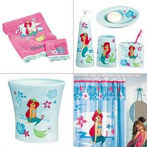 Disney Bathroom Accessories Disney Ariel Bathroom Set Then There S An Ariel Bath Accessories Set Again Available At The