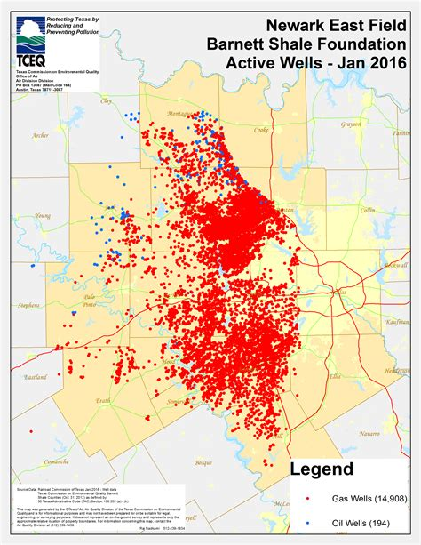 texas drilling map barnett shale maps and charts tceq www tceq texas gov