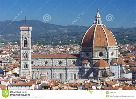 fiore italy duomo cathedral in florence royalty free stock images