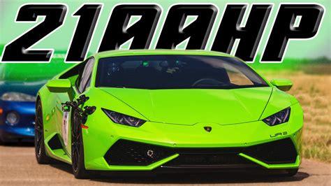 2100HP TT Lamborghini Huracan Busts 200MPH DragTimes.com Drag Racing, Fast Cars, Muscle Cars Blog