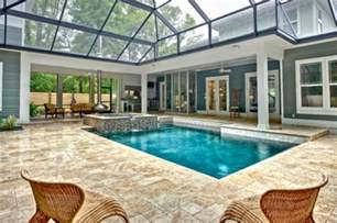 Winter Decorating - beautiful stunning indoor pools refreshing reminders of