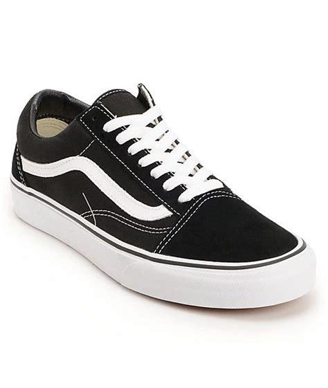 vans skool black white skate shoes skate shoes
