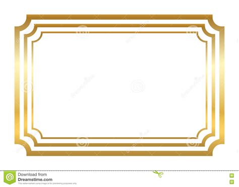 testo glitter and gold gold frame beautiful simple golden style stock vector