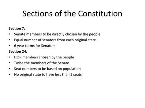 what are the three sections of the constitution ppt methods of judicial interpretation powerpoint