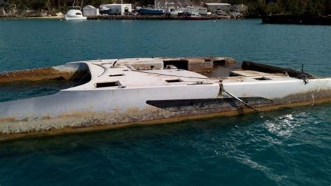 catamarans for sale after hurricane gunboat 55 rainmaker is found after a year adrift in the