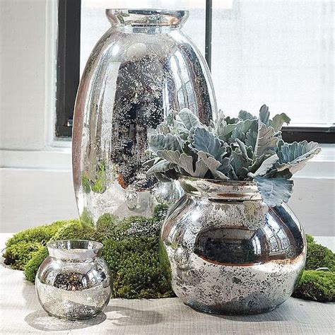 Diy Glass Vases by Sparkling Diy Mercury Glass Vases